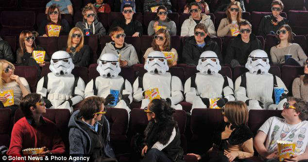 Storm+Troopers+surprise+guests+at+the+premiere+of+%22Episode+One%22+in+the+United+Kingdom.