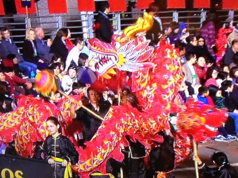 San Francisco's Chinese New Year parade ushers the year of the ram