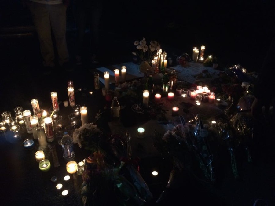 On+April+26%2C+friends+and+family+of+Denis+Meshchyshyn+held+a+candlelight+vigil.+