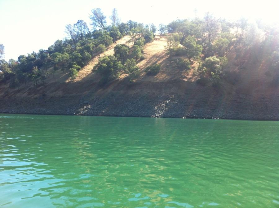 Lake+Berryessa+water+levels+decrease+every+year.+