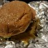 Five Guys serves a delicious cheeseburger.