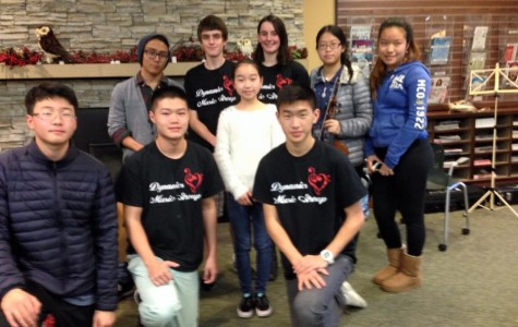 Students who love music join the Dynamics Music Club