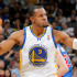Golden State Warrior's sixth man Andre Iguodala provided a spark off the bench with 16 points.