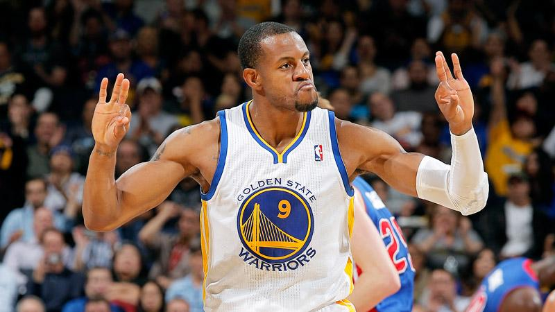Golden+State+Warrior%27s+sixth+man+Andre%0AIguodala+provided+a+spark+off+the+bench+with+16+points.