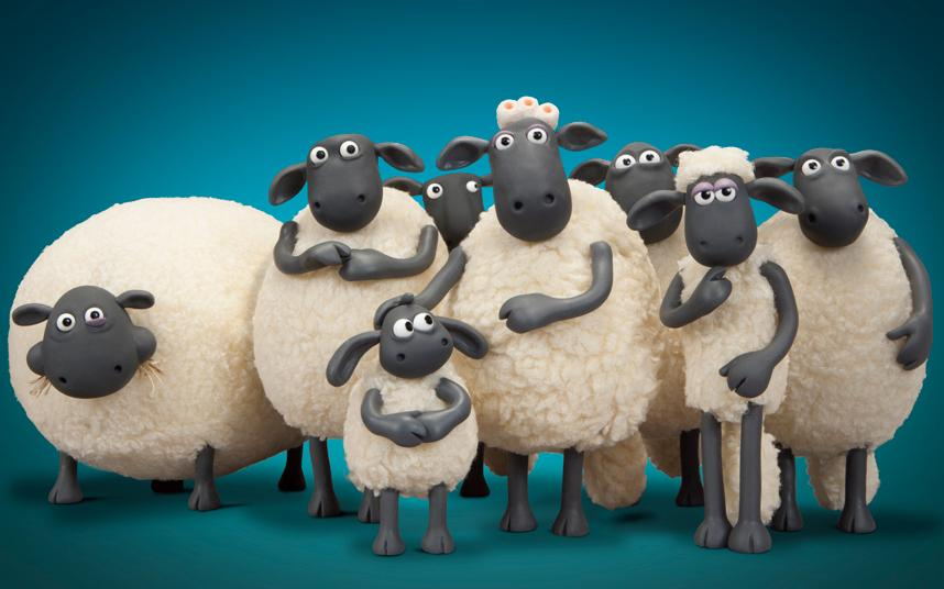 Shaun+and+his+flock+are+deeply+concerned+about+something+in+the+distance...all+except+the+baby%2C+Timmy%2C+who+is+concerned+with+Shaun+and+the+fat+sheep%2C+Shirley%2C+who+is+concerned+with+eating.