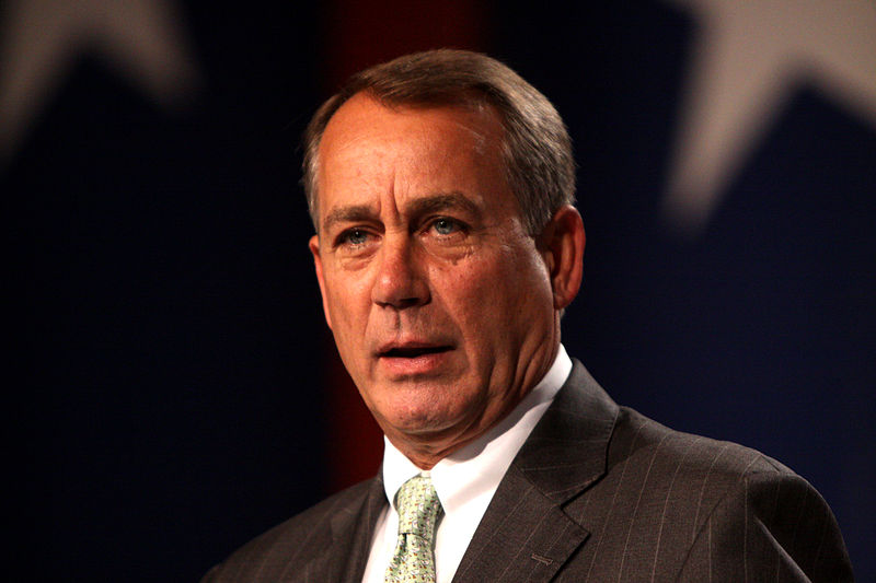 John+Boehner+stunned+the+public+with+his+decision+to+step+down.