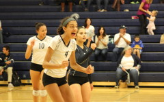 Varsity volleyball barely pulls through with a victory