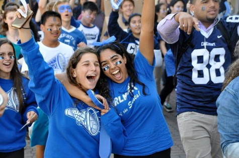 Students hyped for football season-closer