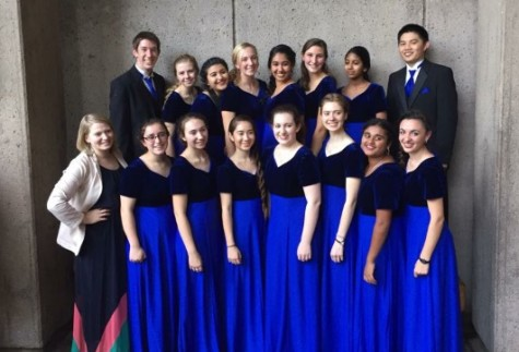 Carlmont singers dominate Coastal Honor Choir