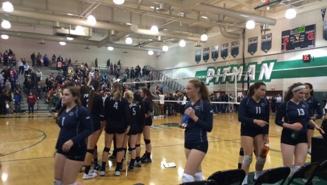 Varsity volleyball's long journey comes to an end