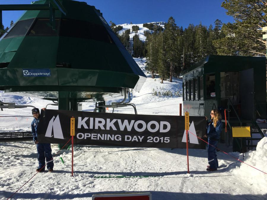 On+Nov.+14+Kirkwood+Mountain+Resort+turned+on+its+lifts+for+the+first+time+this+season+for+about+500+skiers.