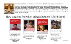 Students react to After School app