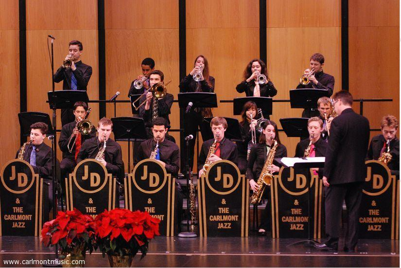 The+Carlmont+Jazz+Ensemble+has+19+members+this+year%2C+many+of+whom+are+newcomers.+The+band+looks+forward+to+performing+for+the+first+time+this+year+after+having+11+out+of+21+members+graduate+in+2015.