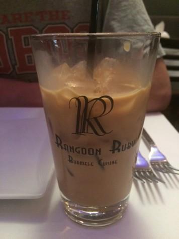 Burmese iced tea has a sinful amount of caffeine and sugar.