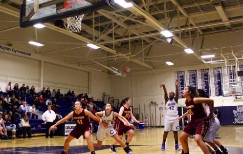 Girls varsity basketball fights hard until the end