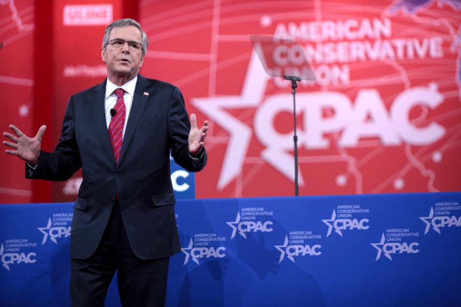 Jeb+Bush+may+have+had+a+few+good+points+during+the+GOP+debates%2C+but+these+points+did+not+extend+to+his+polls.
