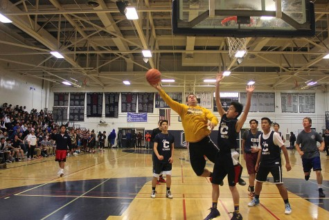 Staff basketball team continues its victory streak