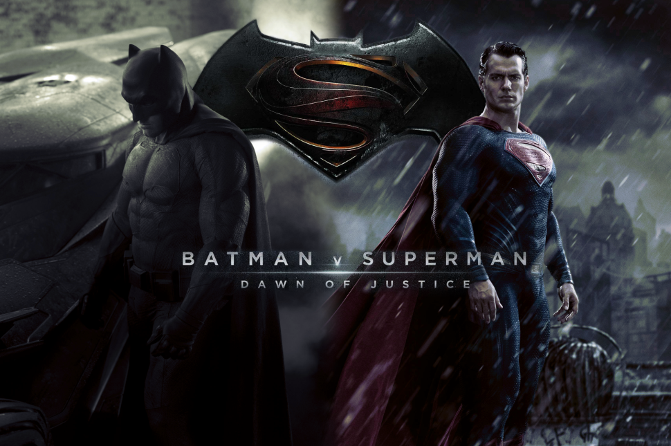 Superman and Batman go head to head in the new movie
