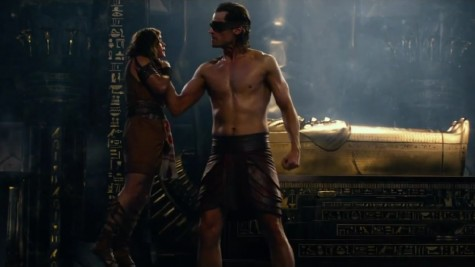 'Gods of Egypt' is a bloody golden mess