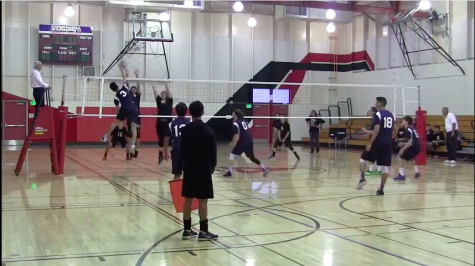 Boys volleyball handed first loss from Dons