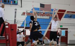 Scots volleyball defeats the Knights at their castle