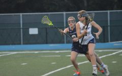 Varsity girls lacrosse finishes season with a close game