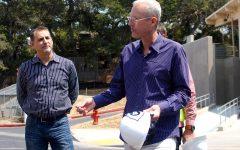 Campus construction reaches big milestone