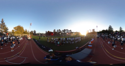 First football game of the year at Aragon