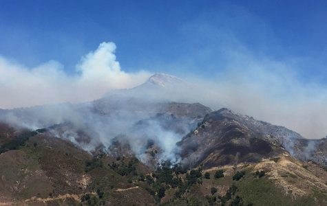 Big Sur goes up in flames