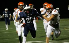 Varsity football falls to Bearcats in homecoming game