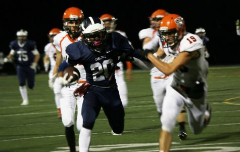 Varsity football falls to Bearcats in homecoming game