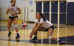 Varsity volleyball beats rival Sequoia in a clean sweep