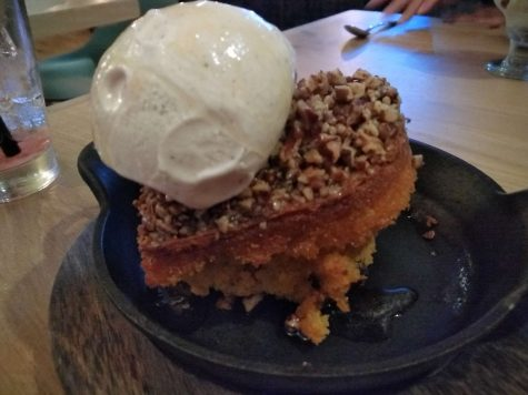 A bread pudding, but with a different style, still very good.