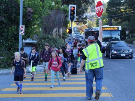 Local crossing guard puts students first