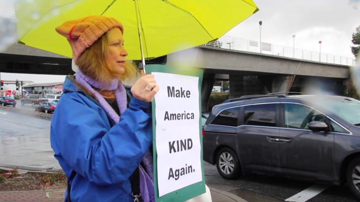 El Camino Real protest unites communities