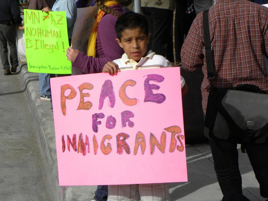 Immigrant+workers+all+over+America+close+their+shops+and+protest+in+the+streets+in+light+of+the+recent+election.