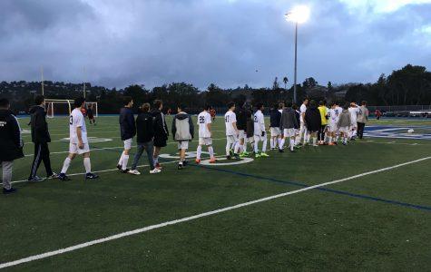 JV boys soccer defeated by Aragon Dons