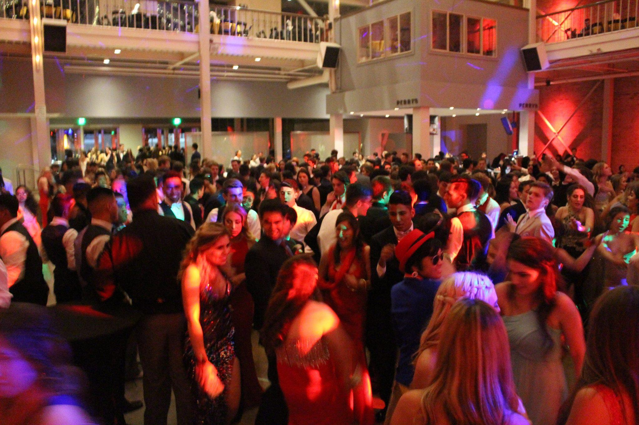 At the 2016 prom, students danced on the dance floor and had the chance to hangout with their friends.