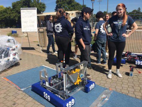 Rally shows off robotics team's success