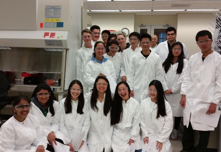 STEM+Club+members+are+scientists+for+a+day+at+Genentech.+%28Tiffany+Chung%29