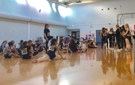 Dance auditions create a fun environment for students