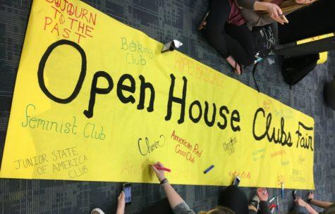 Clubs Fair meets Open House