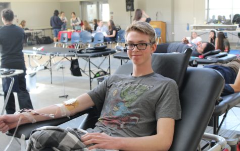 Donating blood paves the way for saving lives