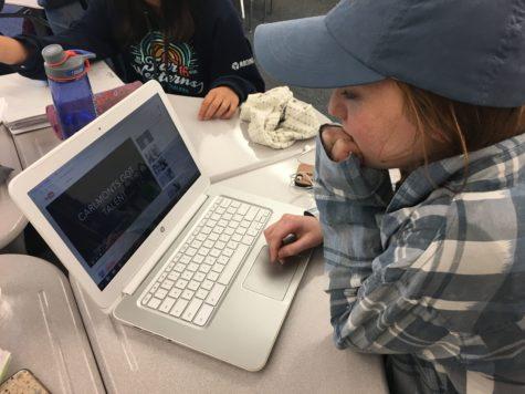 Multimedia Commission films videos to promote school spirit