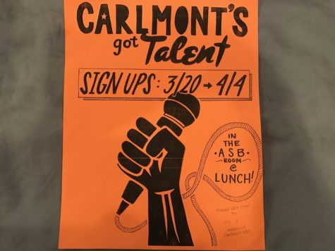 Students sign up for Carlmont's Got Talent