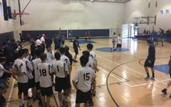 Scots and Vikings lay down arms in an unorthodox volleyball tie