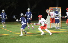 Varsity lacrosse trampled by the Falcons
