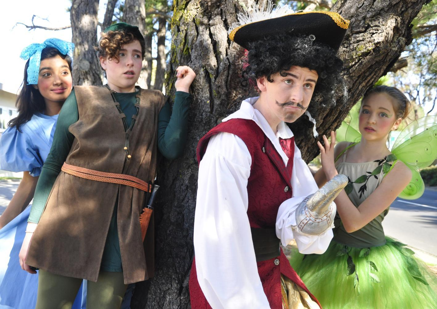 """From April 28 through April 30, Ralston Middle School performed the musical """"Peter Pan Jr."""