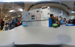 Biotech booth at Course Fair