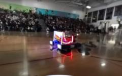 Deep Blue Robotics at the Celebration Assembly